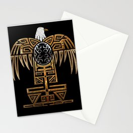 The great mother eagle Stationery Cards