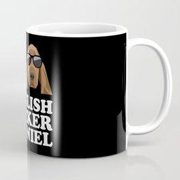 I Love English Cocker Spaniel modern v2 Coffee Mug