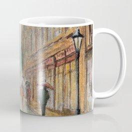 Rainy Day In Oxford England Coffee Mug