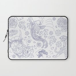 Japanese Tattoo Laptop Sleeve