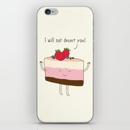 The reason why we love desserts... iPhone Skin
