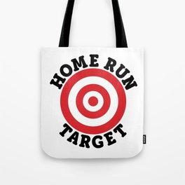Home Run Target Tote Bag