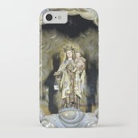 spain iPhone & iPod Cases featuring Spain by Medea