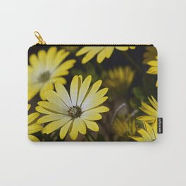 Retro Daisies Carry-All Pouch