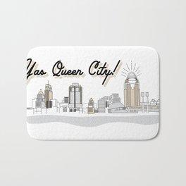 Yas Queen City! Bath Mat