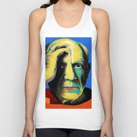 pablo picasso Tank Tops featuring Pablo by Zmudart