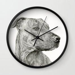 Ittie Bittie Pittie Wall Clock