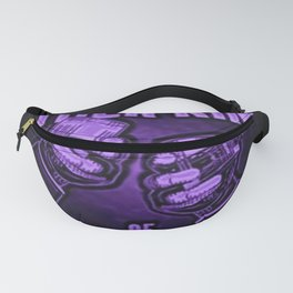 """Vintage """"The Other Kind of Socialist"""" Alcoholic Lithograph Advertisement in vivid purple Fanny Pack"""