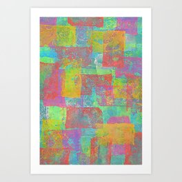 Block Loop Art Print
