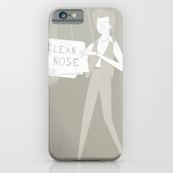 Subterranean Homesick Blues iPhone & iPod Case