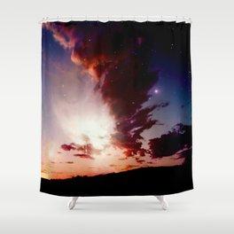 Infinite Sky Shower Curtain