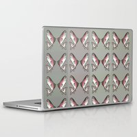 trout Laptop & iPad Skins featuring Rainbow Trout by Emi Claire Brown