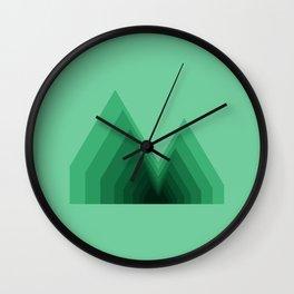 Reykjavik Boulevard #03 Wall Clock