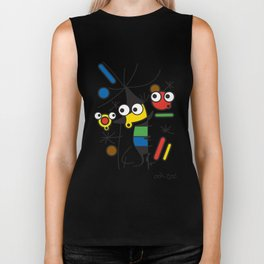 Ooh Zoo – art-series, Miro Biker Tank
