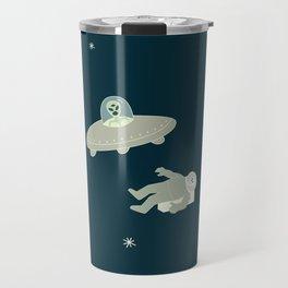 Murder in Space, She Drew Travel Mug