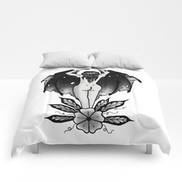 bat butt Comforters