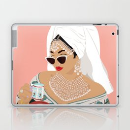 Quarantine Queen Laptop & iPad Skin