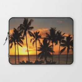 Palm Sunset Laptop Sleeve