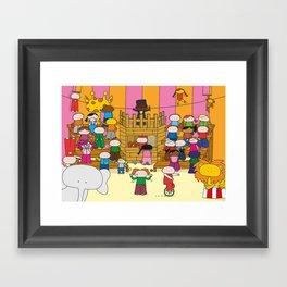 Circus XL Framed Art Print