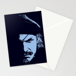 Big Boss (Snake / metal gear solid) Stationery Cards