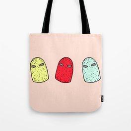 luchadores Tote Bag