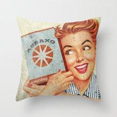 Abraxo - Custom Fallout Ad Throw Pillow