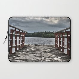 Pier in Sumatra (HDR photo) Laptop Sleeve