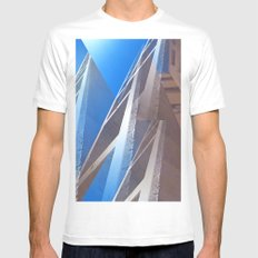 Up Mens Fitted Tee MEDIUM White