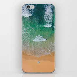 Drone Beach iPhone Skin