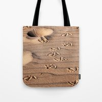 dune Tote Bags featuring SAND DUNE  by CAPTAINSILVA