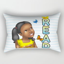 Read With Sasha! Rectangular Pillow