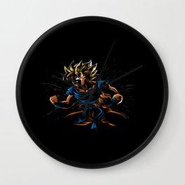 power goku Wall Clock