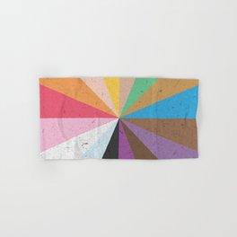 Rainbow Wheel of Inclusivity Hand & Bath Towel