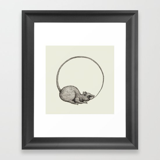 'Ouratoros' Framed Art Print