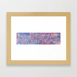 Qu'est ce que Amour? Framed Art Print