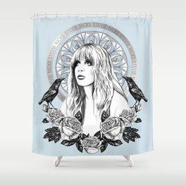 Stevie Nicks Angel Of Dreams Shower Curtain