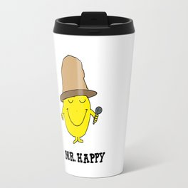Mr. Happy Travel Mug