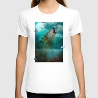 hobbes T-shirts featuring I'll See You In My Dreams (Cry of the Wolf) by soaring anchor designs