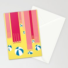 I can bowl a ball, many times in a row. Stationery Cards