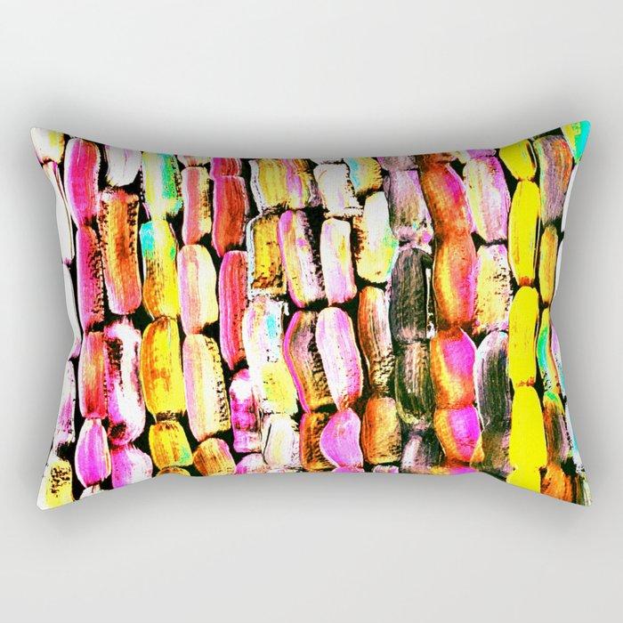 Orange Sugarcane Rectangular Pillow