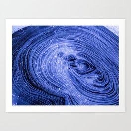 The Connections (Color) Art Print