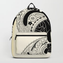Yin & Yang - [collaborative art with Magdalla del Fresto] Backpack