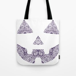 Pumpkin Artwork Tote Bag