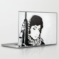 foo fighters Laptop & iPad Skins featuring The Unseen Freedom Fighters by IndieJudge.com