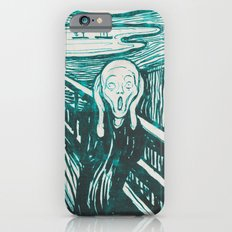 The Scream's Haze (light blue) iPhone 6s Slim Case
