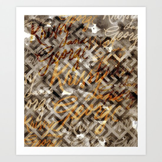 K&G 1 Art Print