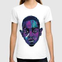 kendrick lamar T-shirts featuring Control - Kendrick Lamar by SmartyArt Chick