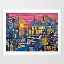 Tropicopolis Art Print