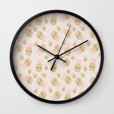 Pineapple Geometry Wall Clock
