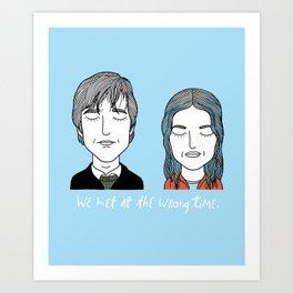 J & C Art Print